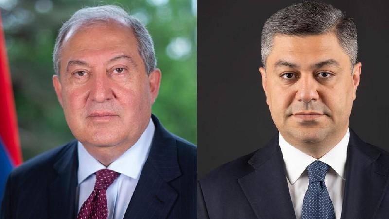 Արմեն Սարգսյանը շնորհավորել է Արթուր Վանեցյանին
