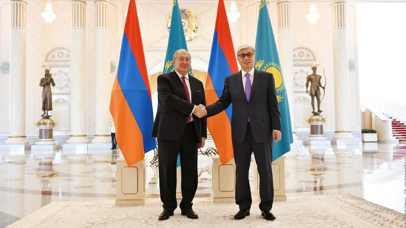 Արմեն Սարգսյանը շնորհավորել է Ղազախստանի նախագահին Անկախության օրվա առթիվ