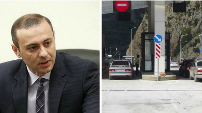 Արմեն Գրիգորյանը` հայ-վրացական սահմանը փակելու մասին