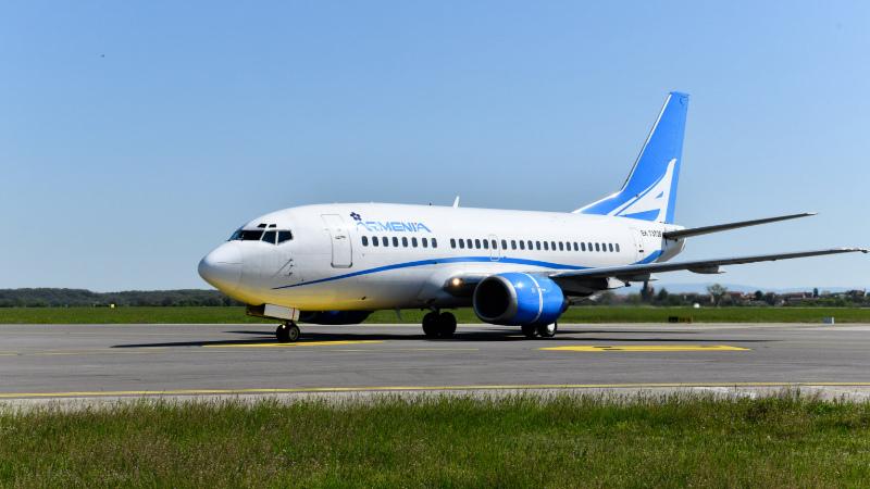 «Արմենիա» ավիաընկերությունը ժամանակավորապես չեղարկում է բոլոր կանոնավոր չվերթերը