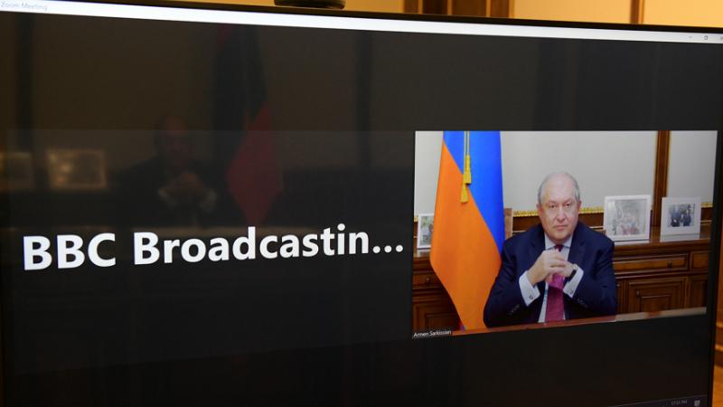Արմեն Սարգսյանը հարցազրույց է տվել BBC-ի արաբական խմբագրությանը