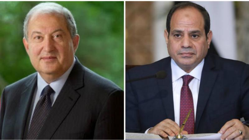 Հավատացած եմ, որ համատեղ ջանքերով հնարավոր կլինի արձանագրել նորանոր ձեռքբերումներ. Արմեն Սարգսյանի շնորհավորական ուղերձը՝ Եգիպտոսի նախագահին