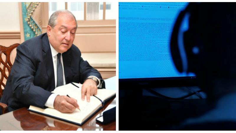 Արմեն Սարգսյանը մի շարք օրենքներ է ստորագրել․ այդ թվում նաև Ոստիկաններին գաղտնալսել թույլատրող օրենքը
