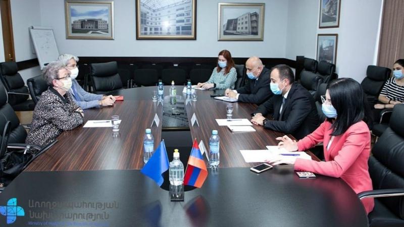 Արսեն Թորոսյանը հանդիպել է Հայաստանում ԵՄ պատվիրակության ղեկավարի և Պատվիրակության համագործակցության բաժնի ղեկավարի հետ