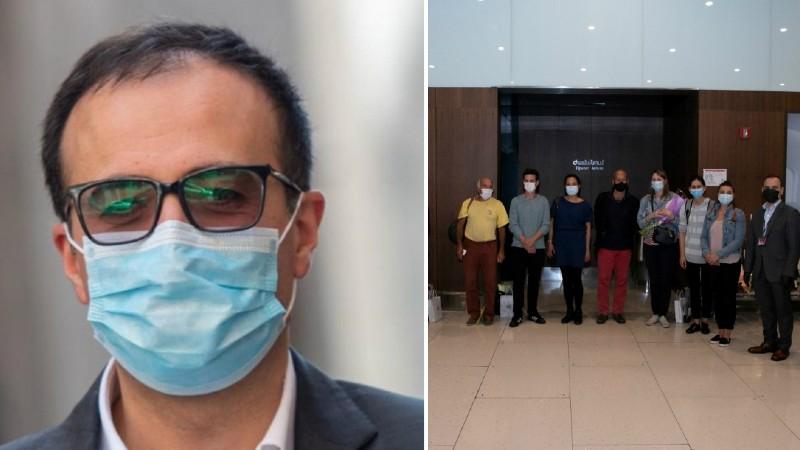 Ֆրանսիայից ժամանած բժիշկները անցել են աշխատանքի կովիդով զբաղվով 3 խոշոր ԲԿ-ների վերակենդանացման բաժանմունքներում․ Արսեն Թորոսյան