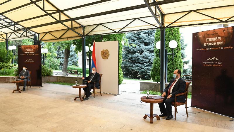 Շատ ուրախ կլինենք, եթե Հայաստան այցելեն մի շարք Նոբելյան մրցանակակիրներ. նախագահի նախաձեռնությամբ՝ STARMUS 6-րդ փառատոնը 2021 թ. անցկացվելու է ՀՀ-ում