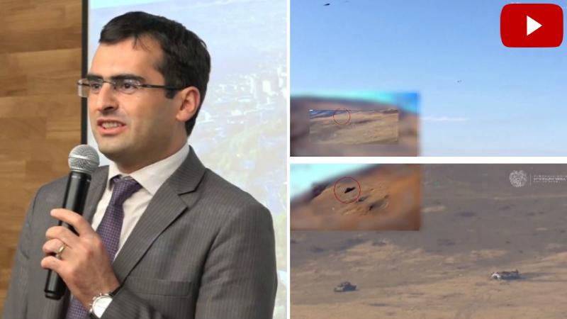 Հայկական հարվածային ԱԹՍ-ներից մեկը՝ գործողության մեջ․ Հակոբ Արշակյանը տեսանյութ է հրապարակել