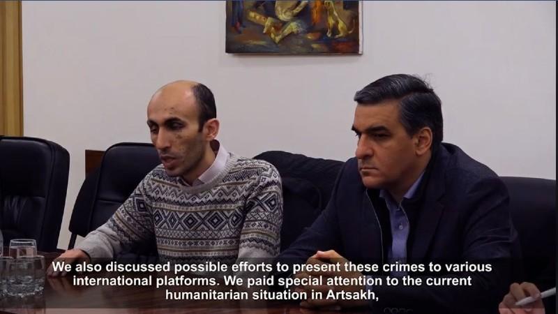 Հայաստանի և Արցախի ՄԻՊ–երը փաստահավաք աշխատանքներ են իրականացնում Արցախում (տեսանյութ)