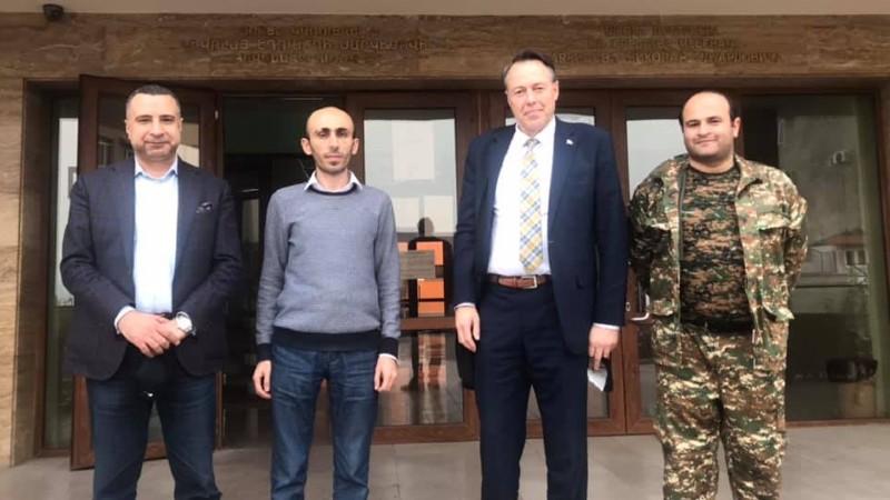 Արտակ Բեգլարյանն ընդունել է «Մեկ ազատ աշխարհ» իրավապաշտպան կազմակերպության նախագահին և Իսլանդիայի խորհրդարանի պատգամավորի