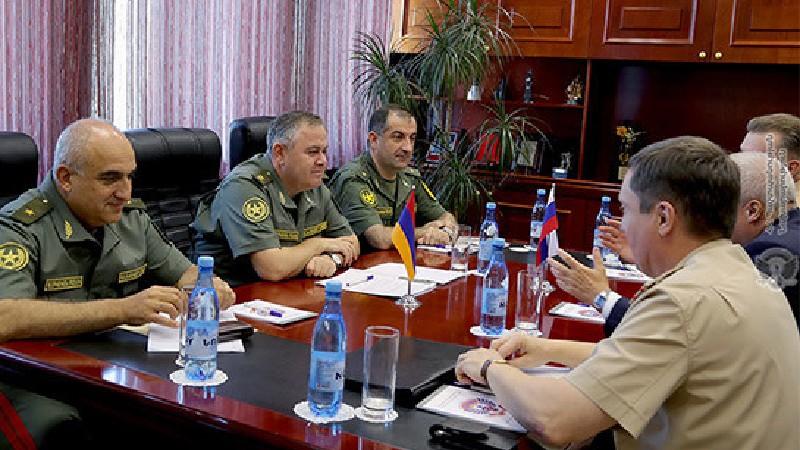 ՀՀ ԶՈՒ ԳՇ պետն ընդունել է ՌԴ դեսպանին. ներկայացվել են տարածաշրջանային անվտանգության խնդիրները