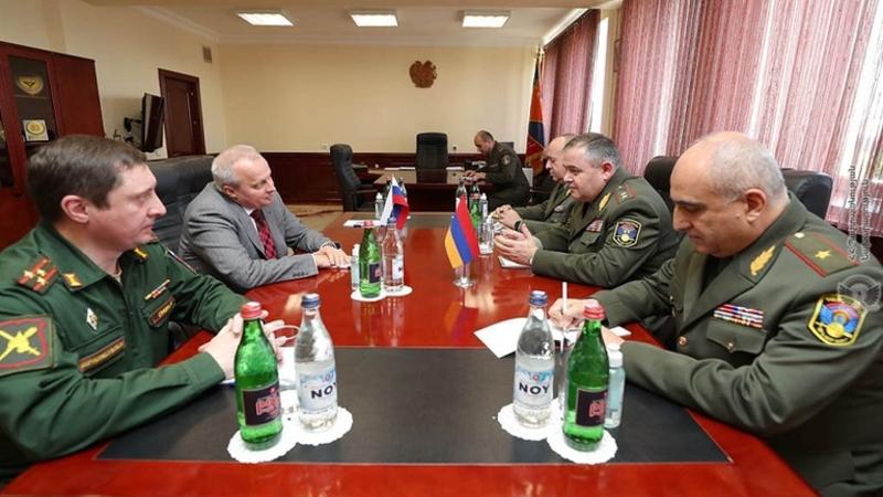 Արտակ Դավթյանը և ՀՀ-ում ՌԴ դեսպանը քննարկել են ռազմատեխնիկական համագործակցության զարգացման հետագա ծրագրերը