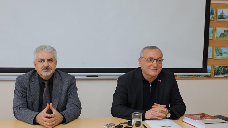 Առանց կարգավիճակի Արցախը գոյություն ունենալ չի կարող. Արթուր Թովմասյանն ԱրՊՀ-ում հանդես է եկել դասախոսությամբ