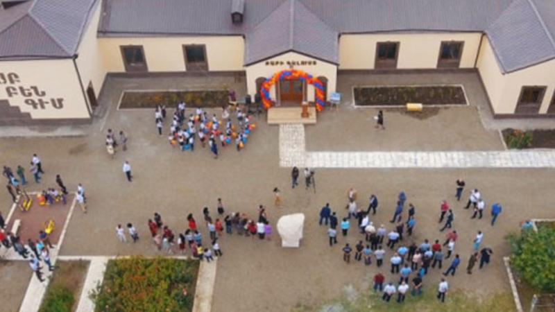 Արցախի նախագահը մասնակցել է Ջիվանի համայնքում դպրոցական շենքի վերաբացման հանդիսավոր արարողությանը