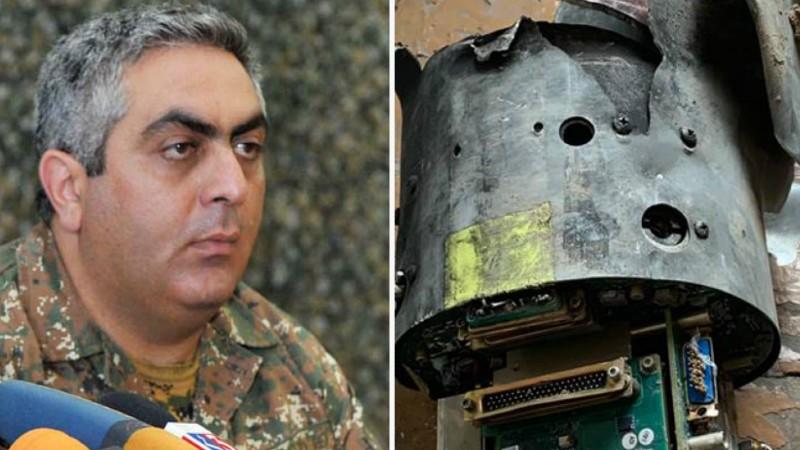 Սիրուն է չէ՞․ Արծրուն Հովհաննիսյանը հրապարակել է Ադրբեջանի խոցված ԱԹՍ-ի լուսանկարները