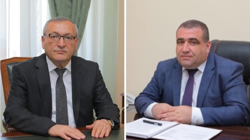 Արցախի ԱԺ նախագահ Արթուր Թովմասյանն այցելել է ՀՀ-ում ԱՀ կառավարության օպերատիվ շտաբ