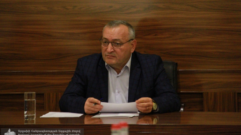Արցախի Ազգային ժողովի նախագահն աշխատանքային խորհրդակցություն է հրավիրել