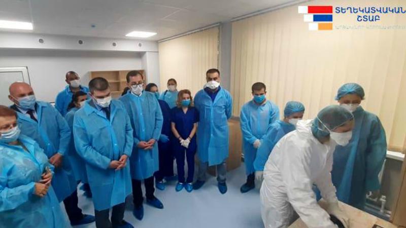 Արցախում բացվել է պոլիմերազային շղթայական ռեակցիայի լաբորատորիա. լաբորատորիայում հնարավորություն է ստեղծված կատարել COVID-19 վարակի հայտնաբերման մի շարք հետազոտություններ