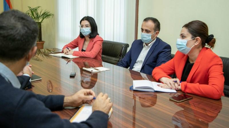 Առողջապահության նախարարությունում քննարկվել են Ֆրանսիայի կողմից շարունակաբար Հայաստանին աջակցող ծրագրերը
