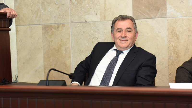 Աշոտ Սաղյանն ընտրվել է Գիտությունների ազգային ակադեմիայի նախագահ