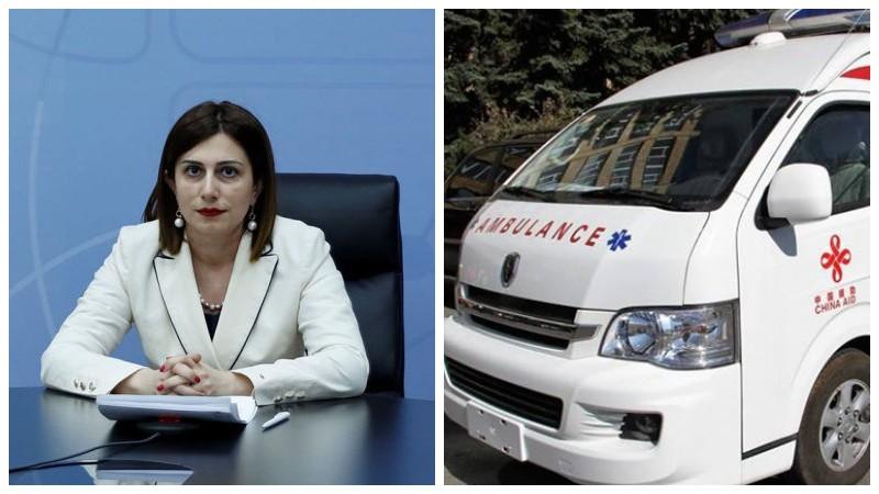 Հայաստանը Ճապոնիայից կստանա ամբողջովին կահավորված 51 շտապօգնության մեքենա. Անահիտ Ավանեսյան