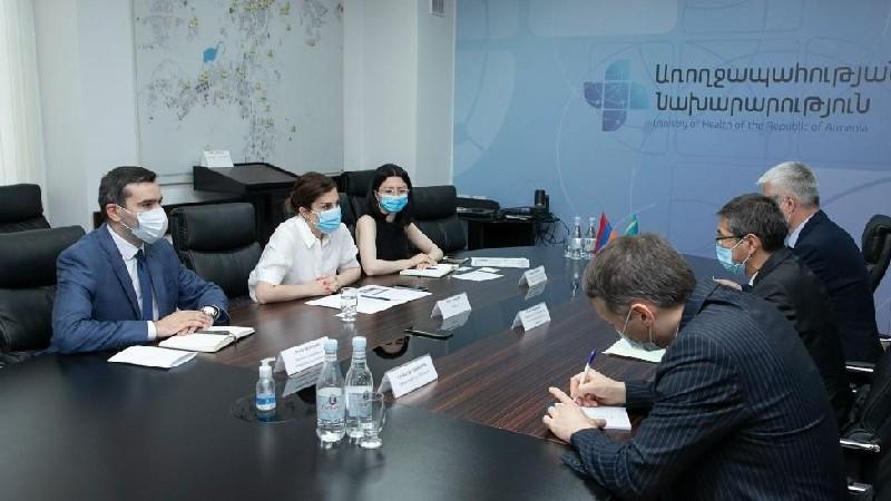 Ղազախական կողմը պատրաստակամություն է հայտնել մարդասիրական օգնության շրջանակում Հայաստանին տրամադրել COVID-19-ի դեմ արտադրած պատվաստանյութը