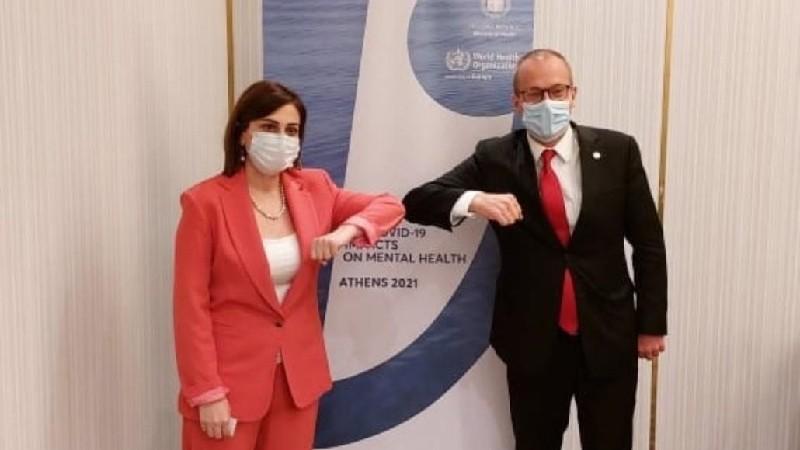Անահիտ Ավանեսյանը ԱՀԿ տարածաշրջանային գրասենյակի տնօրենի հետ խոսել է պատվաստումների մասին