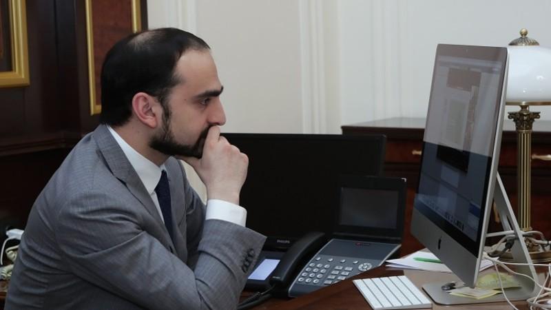 Ավինյանը մասնակցել է «Նորարարական լուծումներ Հայաստանում ԿԶՆ-ների իրականացման համար» ծրագրի ղեկավար խորհրդի նիստին
