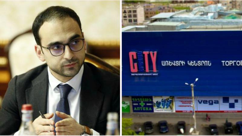 Պարետի որոշմամբ՝ վեց ժամով արգելվել է Կոմիտասի «Երևան Սիթի»-ի և 3 այլ տնտեսվարողների գործունեությունը