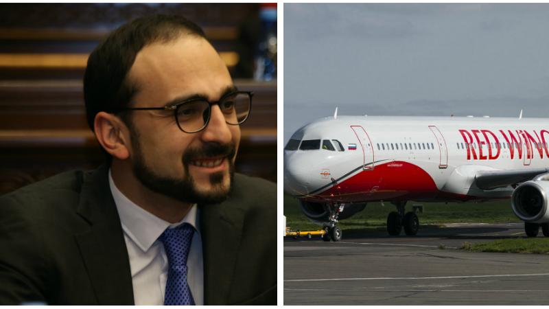 «Red Wings» ավիաընկերությունը ՌԴ կառավարությունից ստացել է թույլտվություն իրականացնելու Մոսկվա-Երևան ևս մեկ թռիչք. Տիգրան Ավինյան