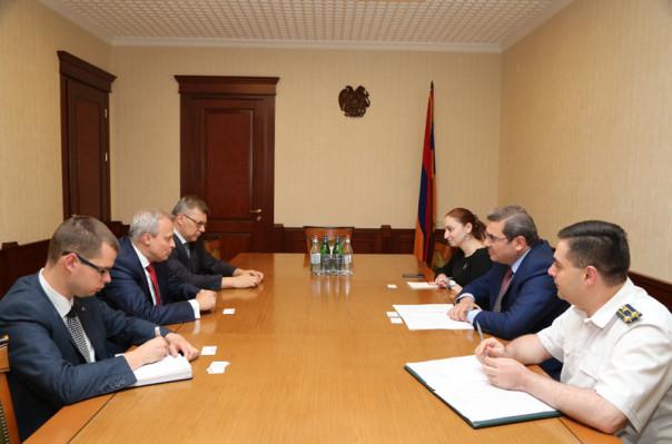 ՊԵԿ նախագահը ՌԴ դեսպանի հետ քննարկել է համագործակցության հեռանկարները