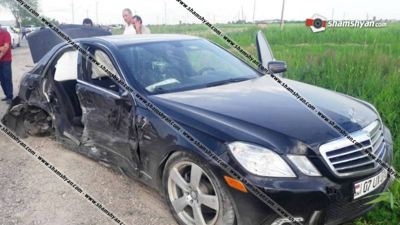 Արարատի մարզում բախվել են Mercedes և Opel մակնիշի ավտոմեքենաները․ կա 1 զոհ, 3 վիրավոր