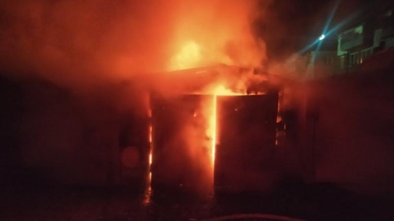 Սայաթ Նովա գյուղ այրվել է ավտոտնակ և եղեգնուտ