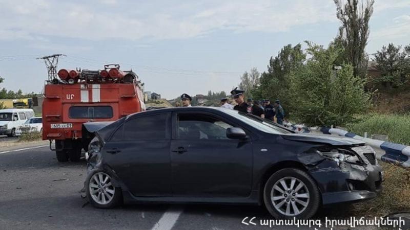Ավտովթար Երևան-Սևան ավտոճանապարհին․ 18-ամյա ուղևորը տեղում մահացել է, կան տուժածներ