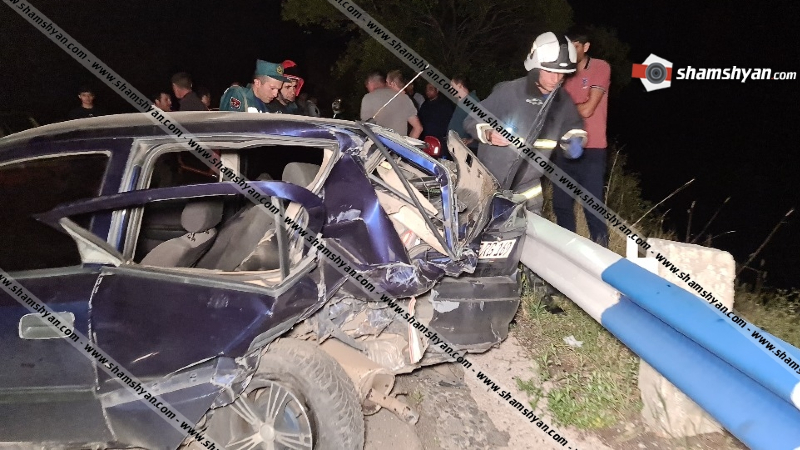 Կոտայքում բախվել են Lexus-ը, Nissan-ն ու Opel-ը. 5 վիրավորներից 3-ը երեխաներ են