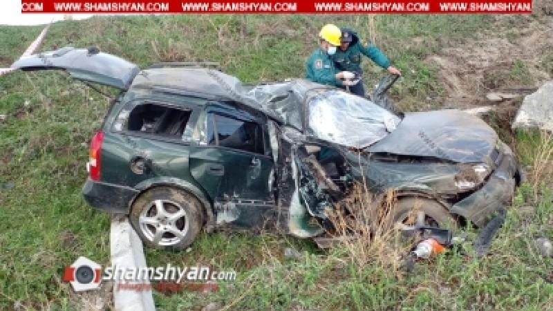 Ավտովթար Սևան-Գետափ ավտոճանապարհին․ ոստիկանության ծառայողը տեղում մահացել է, կա վիրավոր