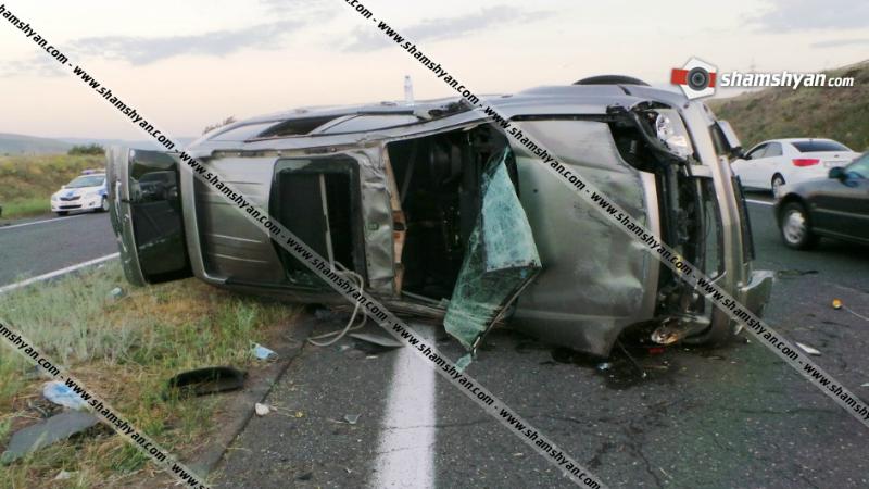 Խոշոր ավտովթար Կոտայքի մարզում. բախվել են Mercedes, BMW և Nissan X-Trail մակնիշի ավտոմեքենաները. կա 3 վիրավոր