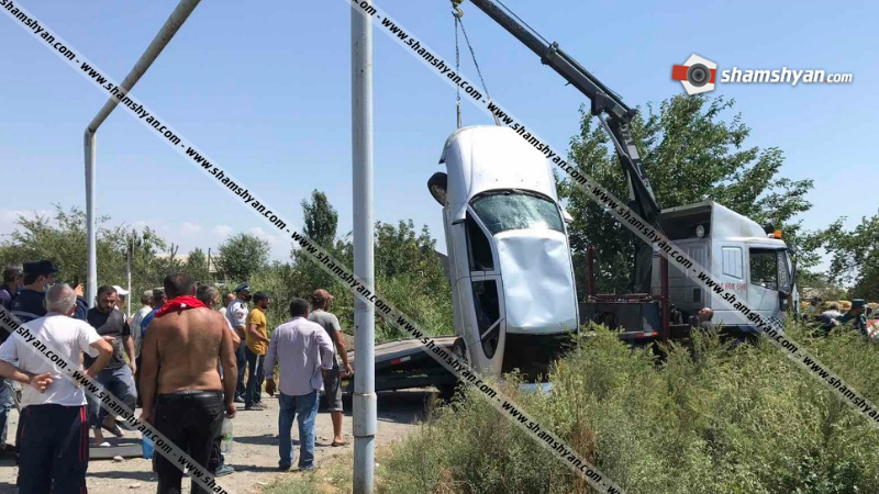 Արարատի մարզում 31–ամյա վարորդը Opel-ով հայտնվել է Խաչփառ գյուղով անցնող չգործող ջրատարում