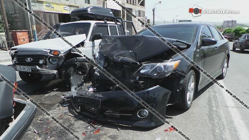 Խոշոր և շղթայական ավտովթար Երևանում․ Դավիթ Բեկի պողոտայում իրար են բախվել 5 մեքենա