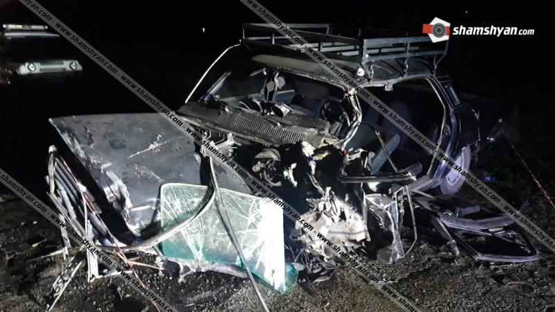 Մահվան ելքով ավտովթար Սևան-Մարտունի-Գետափ ավտոճանապարհին․ ճակատ-ճակատի բախվել են ГАЗ 24 և ВАЗ 2107 մակնիշի ավտոմեքենաները