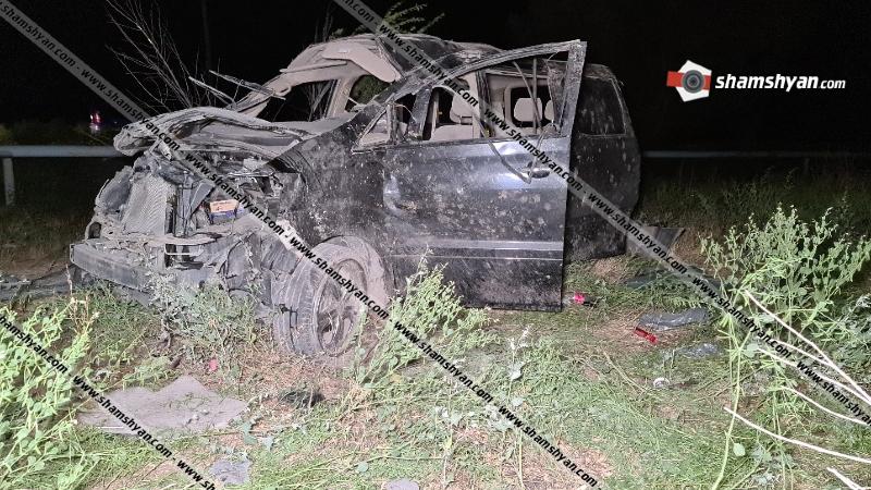 Արմավիրի մարզում ողբերգական ավտովթարի հետևանքով մահացել է գեներալ Սեյրան Սարոյանի քրոջ որդին