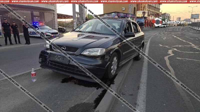 Երևանում ծառայության ժամանակ վրաերթի է ենթարկվել Ճանապարհային ոստիկանության տեսուչը