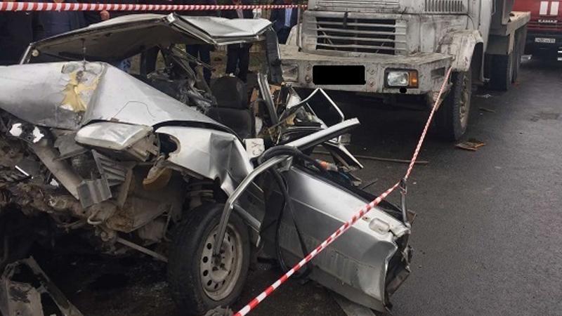 Էջմիածին-Երևան ճանապարհին բախվել են բեռնատարը, միկրոբեռնատարը, տրակտորը և մարդատար մեքենան. կա վիրավոր