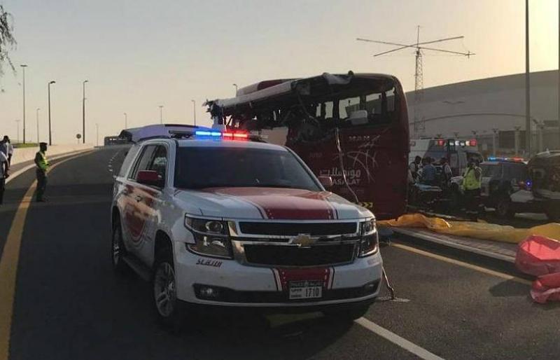 Դուբայում տուրիստական ավտոբուսի վթարի հետեւանքով 17 մարդ է զոհվել