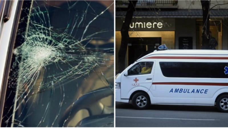 Ազատության պողոտայի և Մամիկոնյանց փողոցի խաչմերուկում բախվել են Opel և Mercedes-Benz մակնիշների ավտոմեքենաները․ մեկ անձ հոսպիտալացվել է