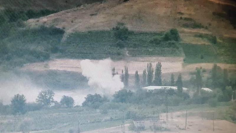 Ադրբեջանական կողմի այսօրվա հարվածը Այգեպար գյուղի ուղղությամբ (լուսանկարներ, տեսանյութ)