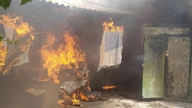 Գյումրիում այրվել է մեկ կտուրի տակ գտնվող չորս ավտոտնակներից երկուսը և հարակից խոհանոցը