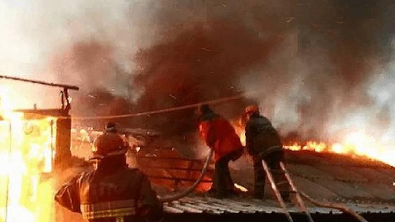 Արին գյուղում այրվում է դպրոցի տանիքը․ ԱԻՆ