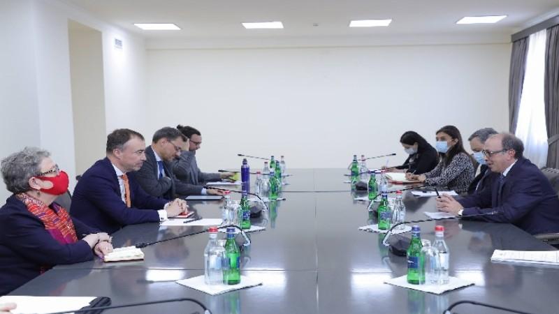 Արա Այվազյանն ու ԵՄ հատուկ ներկայացուցիչը քննարկել են տարածաշրջանի անվտանգության հարցեր