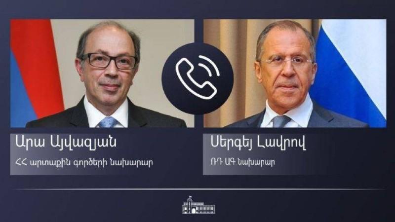 Հայաստանի և Ռուսաստանի ԱԳ նախարարներն այսօր հեռախոսազրույց են ունեցել