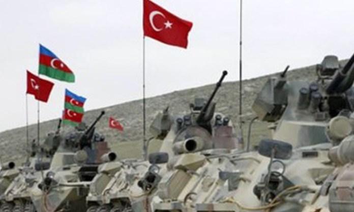 Թուրք-ադրբեջանական զորավարժություններ Կարսում